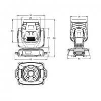 INVOLIGHT LED MH120S PRO