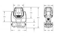 INVOLIGHT LED MH250S PRO